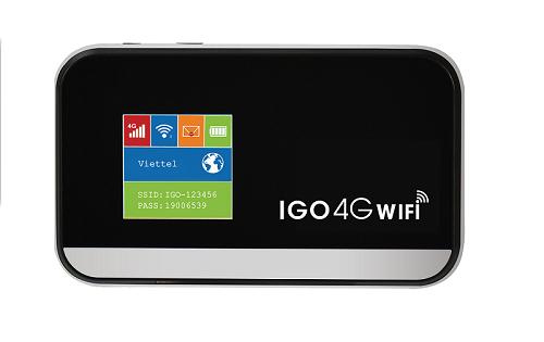Bộ phát Wifi 4G Model IGO A368