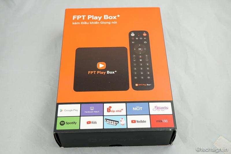 FPT Play Box 4K Bluetooth Điều khiển giọng nói Android TV 9 Ver 2019 chính hãng FPT