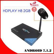 HDPLAY H8 RAM 2G / ROM 16G , AMLOGIC S912 , ANDROID 7.1.2