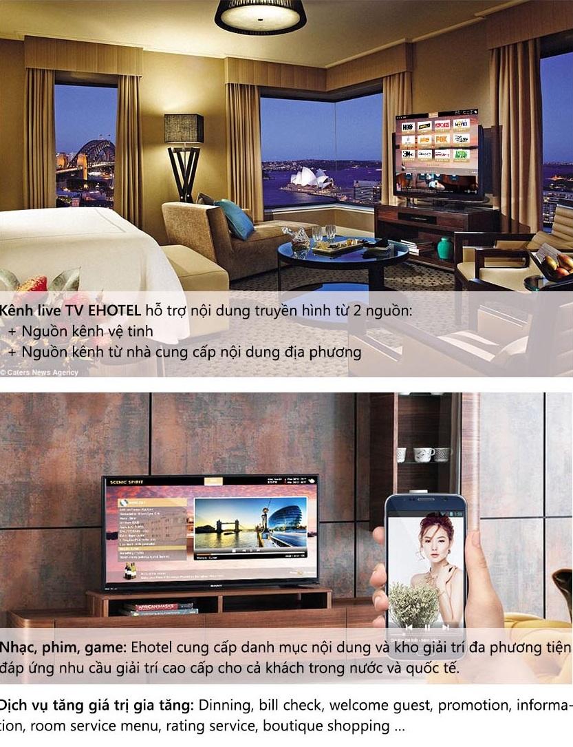 CUNG CẤP GIẢI PHÁP E-MARKETING IPTV  FOR HOTEL