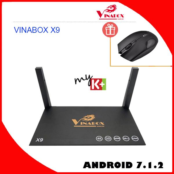 Vinabox X9 V.2018 chính hãng